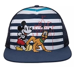 Disney Hat - Baseball Cap - Mickey Mouse and Pluto - Youth