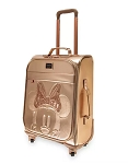 Disney Loungefly Rolling Luggage - Minnie Mouse - Briar Rose Gold