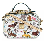 Disney Dooney & Bourke Bag - Disney Dogs Sketch - Ambler Crossbody