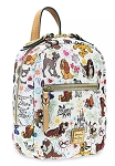 Disney Dooney & Bourke Backpack - Disney Dogs Sketch - Mini