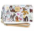 Disney Dooney & Bourke Wallet - Disney Dogs Sketch