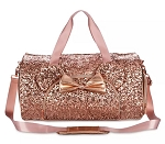 Disney Loungefly Duffel Bag - Minnie Sequin - Briar Rose Gold