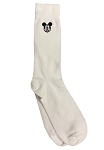 Disney Socks for Adults - Mickey Mouse Face Icon - White