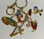 Disney Keychain - Disney Ink and Paint Charms