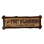 Disney Car Magnet - Fort Wilderness Resort & Campground