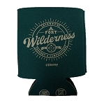 Disney Can Koozie - Fort Wilderness Resort and Campground - Green