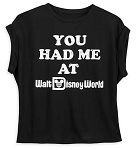 Disney Sleeveless Shirt for Women - You Had me at Walt Disney World