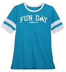 Disney Shirt for Women - Fun Day - Walt Disney World Football Jersey