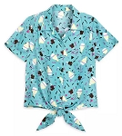 Disney Blouse for Women - Disney Parks Treats - Blue