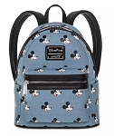 Disney Loungefly Backpack - Mickey Mouse Denim - Mini