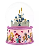 Disney Snow Globe - Fantasyland Castle with Princesses