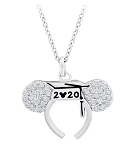 Disney Crislu Necklace - Mickey Mouse Graduation 2020