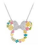 Disney Rebecca Hook Necklace - Minnie Mouse Flower Icon