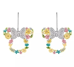 Disney Rebecca Hook Earrings - Minnie Mouse Flower Icon