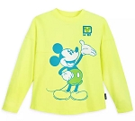 Disney Child Spirit Jersey - Mickey Mouse Neon Spirit - Yellow