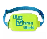 Disney Belt Bag - Walt Disney World - Neon Yellow