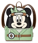 Disney Loungefly Backpack - Safari Minnie Mouse - Animal Kingdom