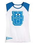 Disney Tank Top for Women - Monsters University - Logo