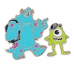 Disney Monsters University Pin Set - Mike and Sulley - Set of 2
