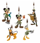 Disney Ornament Set - Safari Mickey & Friends - Animal Kingdom