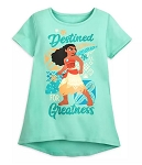 Disney Shirt for Girls - Moana - Destined for Greatness