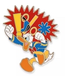 Disney Donald Duck Pin - Angry Donald