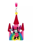 Disney Figurine Ornament - Minnie Mouse Fantasyland Castle