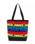 Disney Tote Bag - Disney Parks Icons Rainbow Tote