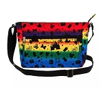 Disney Crossbody Bag - Disney Parks Icons Rainbow