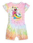 Disney Romper for Baby - Minnie Mouse Tie-Dye - Rainbow