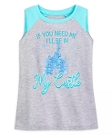 Disney Tank Top for Girls - If You Need Me, I'll Be in my Castle