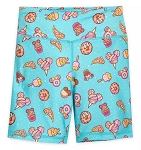 Disney Bike Shorts for Girls - Parks Food Icons