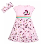 Disney Dress Set for Baby - Minnie Mouse Rainbow - Pink