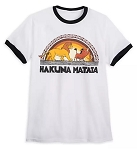 Disney T-Shirt for Adults - The Lion King - Hakuna Matata - White