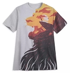 Disney T-Shirt for Adults - The Lion King Pride Rock