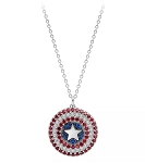 Disney Crislu Necklace - Captain America Shield