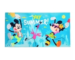 Disney Beach Towel - Mickey and Minnie - Yay Summer