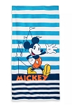 Disney Beach Towel - Mickey Mouse Striped
