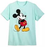 Disney T-Shirt for Adults - Classic Mickey Mouse - Topaz