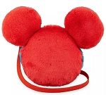 Disney Crossbody Bag - Mickey Mouse Icon Plush - Red