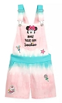 Disney Overalls for Girls - Minnie Mouse Tie-Dye