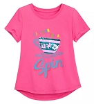 Disney Shirt for Girls - Mad Tea Party Reversible Sequin