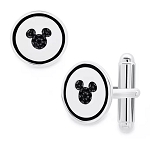 Disney Crislu Cufflinks - Mickey Mouse Icon