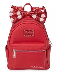 Disney Loungefly Backpack - Minnie Mouse with Sequined Bow