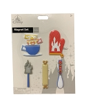 Disney Magnet Set - Magic Kingdom Kitchen Utensils