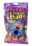 Disney Stitch Extreme Sours - Sour Cherry Berry Rainbow Sticks - 5oz