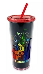 Disney Tumbler with Straw - Rainbow Castle - Walt Disney World