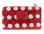 Disney Loungefly Wallet - Minnie Mouse Bow Sequin