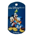 Disney Pet ID Tag - Mickey and Friends - Engraved