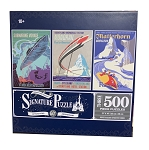 Disney Signature Puzzle Set - Disneyland Attractions - 60th Anniversary